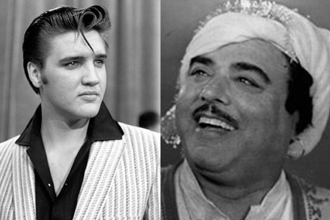 Alam Lohar and Elvis Presley